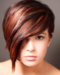 Half Short Half Long Hairstyles