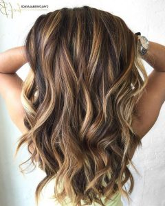Highlighted Long Hairstyles