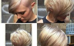 Platinum Asymmetrical Blonde Hairstyles