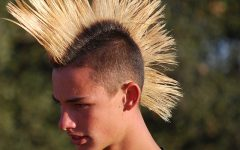 Spiked Blonde Mohawk Haircuts