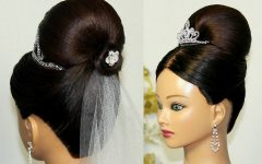 Wedding Hairstyles For Long Bun Hair