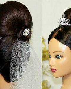 Wedding Hairstyles For Long Bun Hair