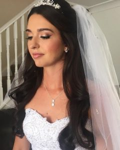 Related About Half Up Wedding Hairstyles With Veil And Tiara