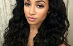 Natural Color Waves Hairstyles