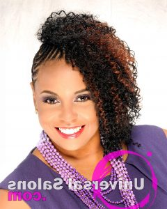 Cornrows Hairstyles With Extensions