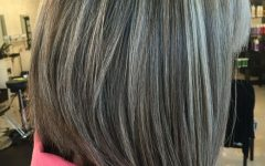 Gray Hairstyles With High Layers