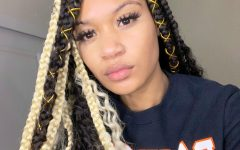 Dookie Braid Hairstyles with Blonde Highlights