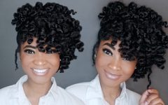 Updo Twist Out Hairstyles