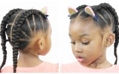 Cornrows Hairstyles for Little Girl