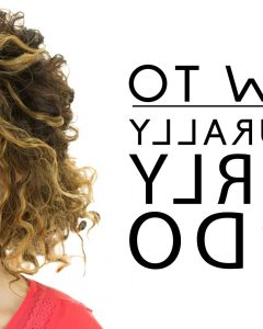 Casual Updos For Naturally Curly Hair
