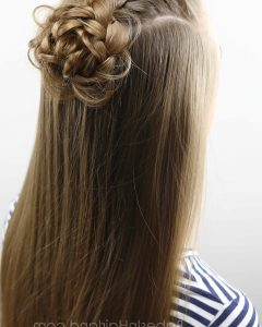 Ponytail Hairstyles With A Braided Element