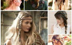 Bohemian Medium Hairstyles