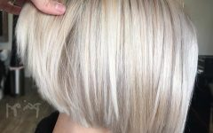 Inverted Blonde Bob for Thin Hair