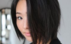 Asymmetrical Bob Asian Hairstyles