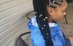 Braided Up Hairstyles with Weave
