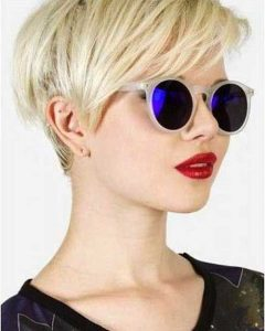 Contemporary Pixie Haircuts