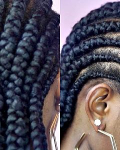Cornrows Hairstyles For Short Hair