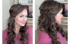 Easy Wedding Hair for Bridesmaids