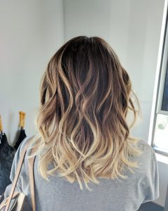 Long Bob Blonde Hairstyles With Babylights