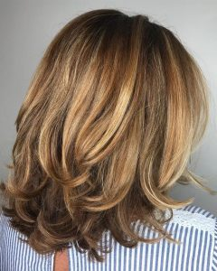 Long Bob Hairstyles With Flipped Layered Ends