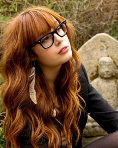 Long Hairstyles For Girls With Glasses