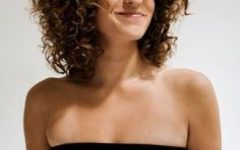 Medium Haircuts for Naturally Curly Hair