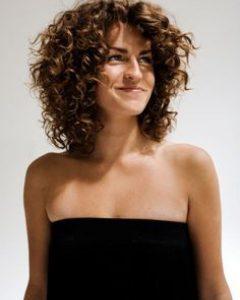 Medium Haircuts for Naturally Curly Hair