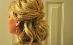 Medium Hairstyles Half Up