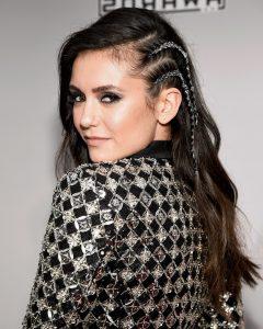 Metallic Side Cornrows Hairstyles
