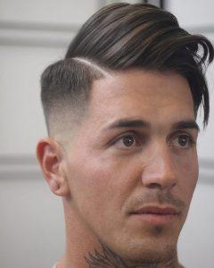 One Side Medium Haircuts