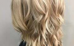 Shoulder-length Hairstyles with Long Swoopy Layers