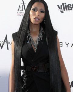 Nicki Minaj Long Hairstyles