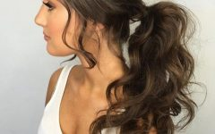 Bouffant Ponytail Hairstyles for Long Hair