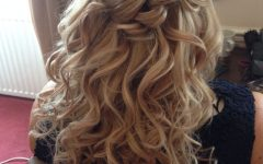 Half Updo Hairstyles for Mother of the Bride