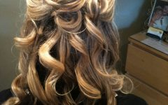 Partial Updo Hairstyles