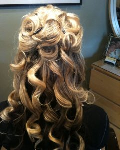 Partial Updo Hairstyles For Long Hair