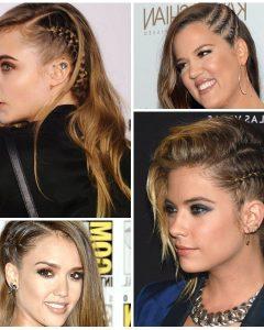 Faux Undercut Braided Hairstyles