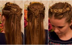 Medieval Crown Braided Hairstyles