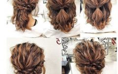 Messy Curly Hairstyles for Medium Hair