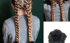 Three Strand Pigtails Braid Hairstyles