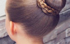 Braided Ballerina Bun Hairstyles