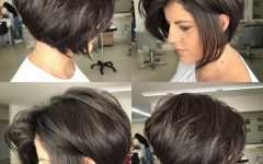 Jet Black Chin Length Sleek Bob Hairstyles