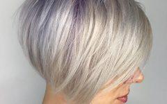 Silver Short Bob Haircuts