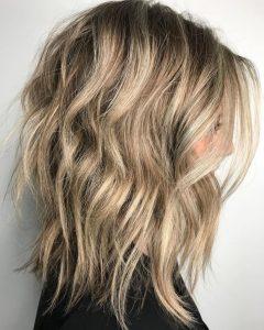 Longer Waves Shag Haircuts
