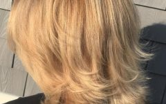 Strawberry Blonde Bob Hairstyles with Flipped Ends