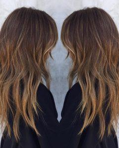 Long Haircuts With Chunky Angled Layers