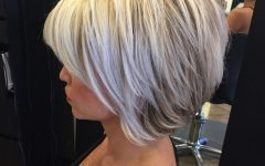 Short Platinum Blonde Bob Hairstyles