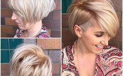 Asymmetrical Side-sweep Hairstyles