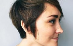 Pixie Haircuts with Tapered Sideburns