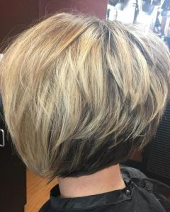 Cool Toned Angled Bob Hairstyles